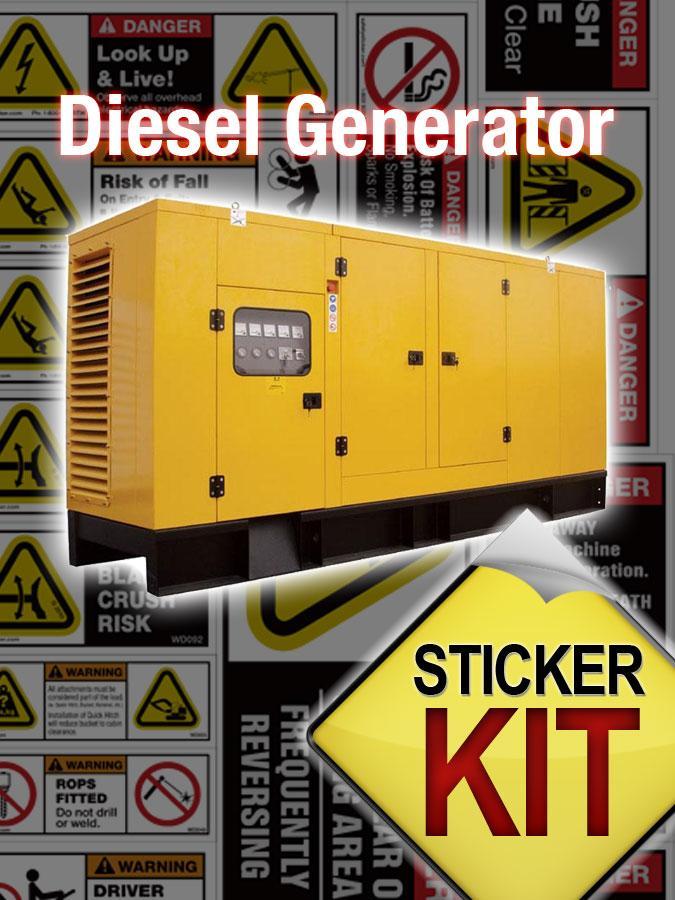 diesel generator icon. Generator Large Diesel Icon