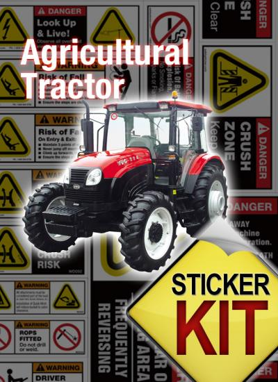 Tractor Pto Warning Decals : Agricultural tractor safety stickers decals