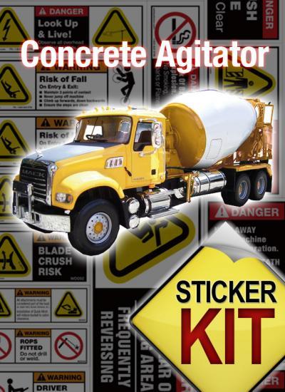 Concrete Agitator safety kit