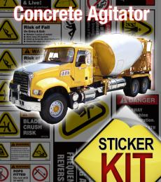 Concrete Agitator safety kit