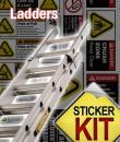 ladder safety sticker kit