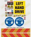 RTA sticker kit