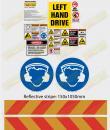 NSW RTA sticker sheet