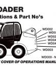 skid steer safety checklist and positions