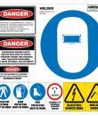 welder safety sheet