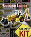 backhoe safety stickers